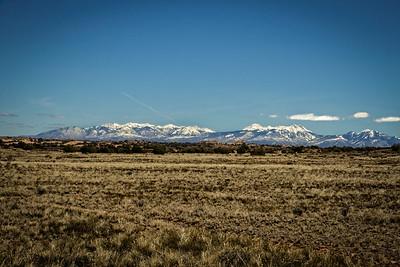 Canyonlands to La Sal mountains