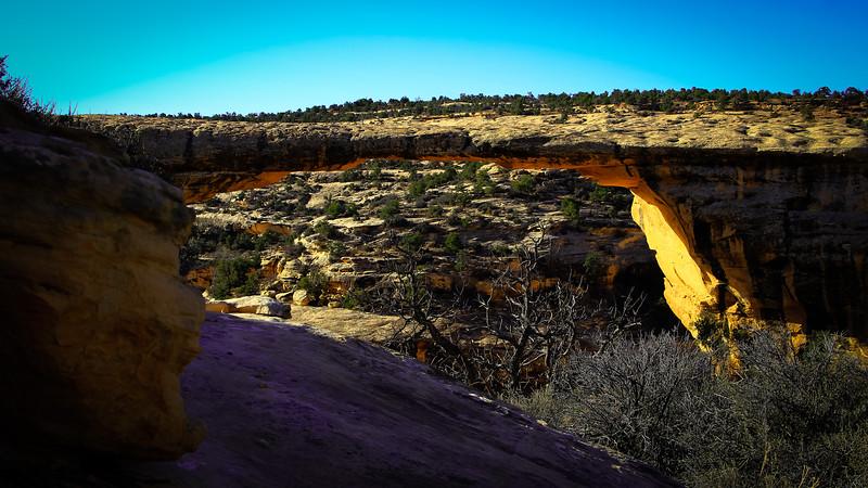 Natural Bridges National Monument Southern Utah