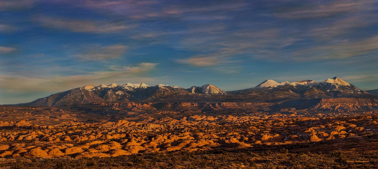 Petrified Dunes-La Sal View point
