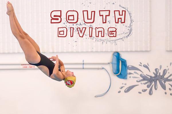 Girls Diving