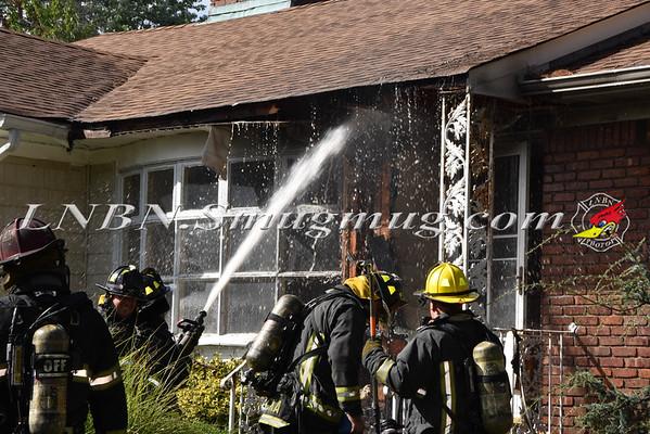 South Farmingdale F.D. House Fire 100 Merrits Road 9-21-15