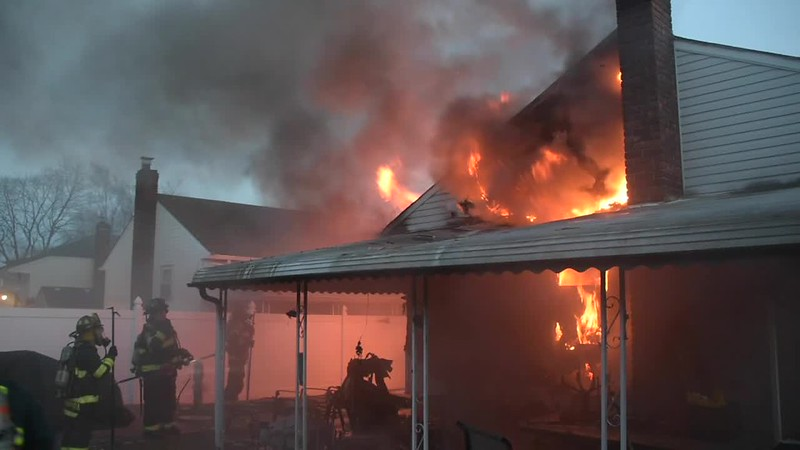 South Farmingdale House Fire- Paul Mazza