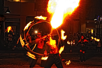 Firedancers, Supernova, Cirque du Grove, Coconut Grove, Fl