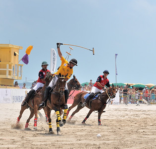 Only in Miami......AMG International Beach Polo World Cup,  Miami Beach, Fl.