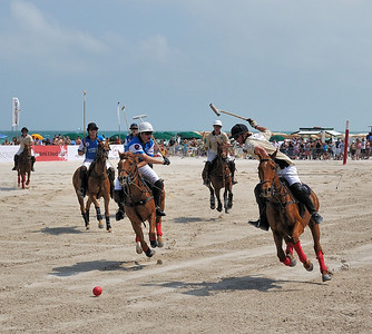 AMG International Beach Polo World Cup, Miami Beach, Fl.