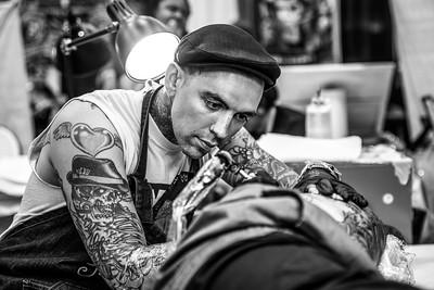 South Florida Tattoo Expo [BW]