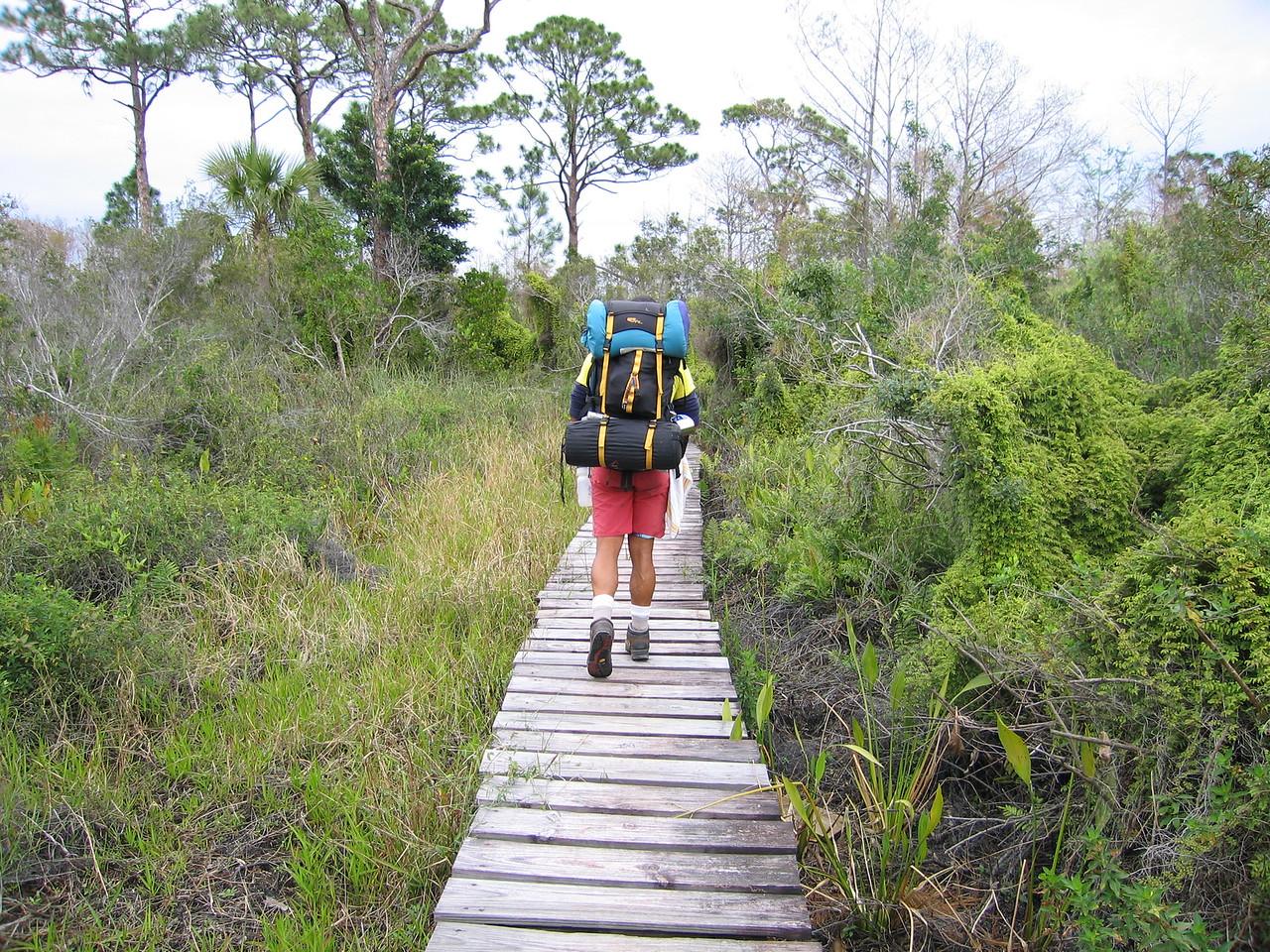 Boardwalk in JD<br /> photo credit: Raphael Clemente / Florida Trail Association