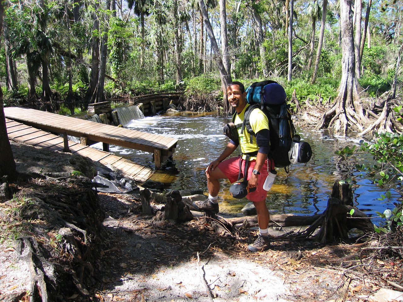 Raphael at the Loxahatchee River<br /> photo credit: Raphael Clemente / Florida Trail Association