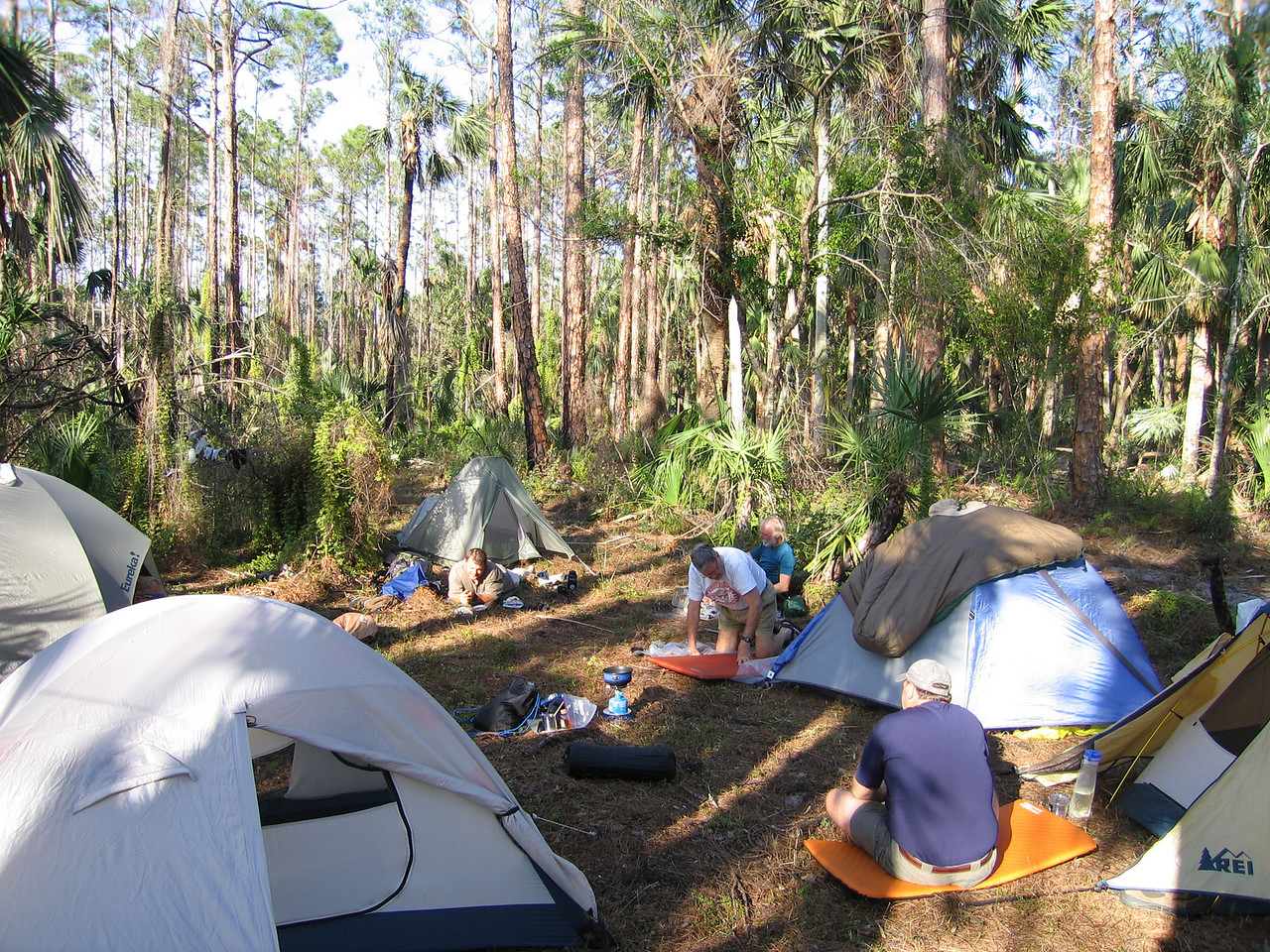 Time to Relax<br /> photo credit: Raphael Clemente / Florida Trail Association