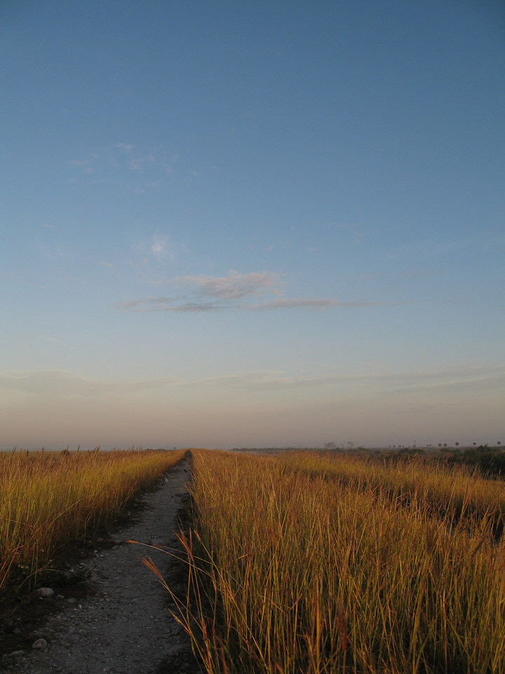 Early morning light at Moore Haven<br /> PHOTO CREDIT: Sandra Friend / Florida Trail Association
