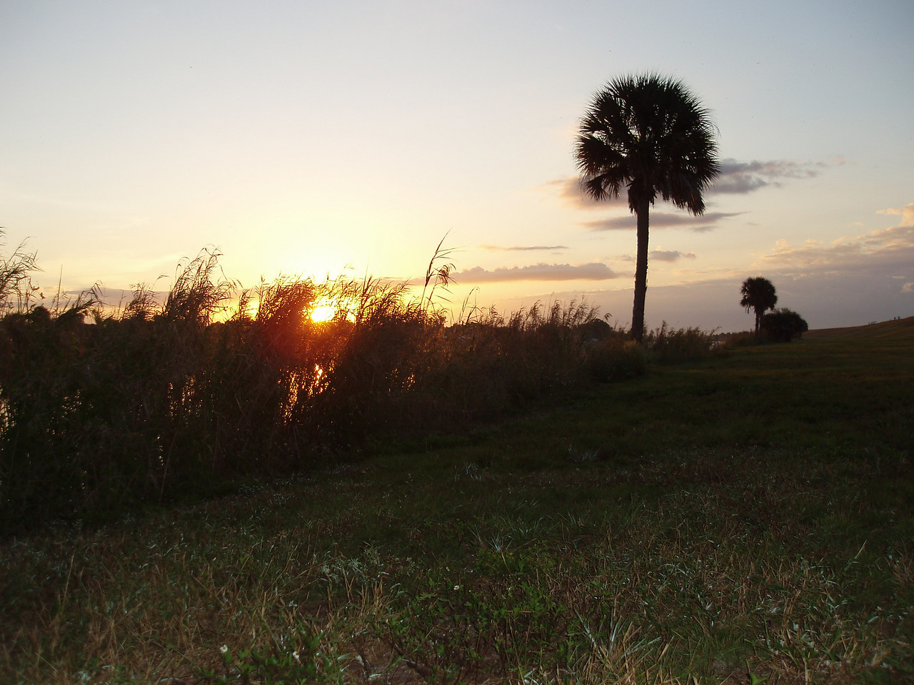 Sunrise along the Rim Canal<br /> PHOTO CREDIT: Robert Coveney / Florida Trail Association
