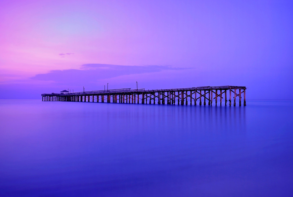 The Old Pier of Sunny Isle Beach, Miami.