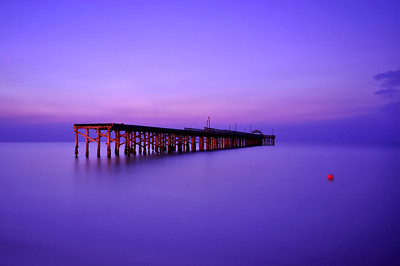 Sunny Isle Beach Pier at Sunrise.