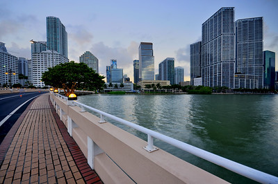 Brickell Bridge, Downtown Miami