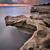 Rock formation of Carlin Park, Jupiter Florida.