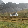 CHURCH AT GRYTVIKEN, <br>pre-fabricated in Norway, transported<br>to South Georgia in 1913