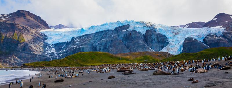 The Hanging Glacier