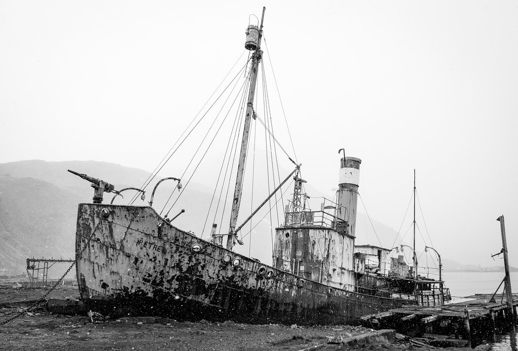Grytviken whaling ship