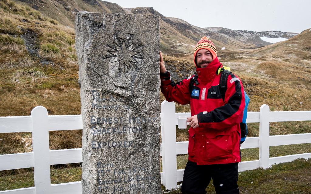 Ernest Shackleton Grave South Georgia