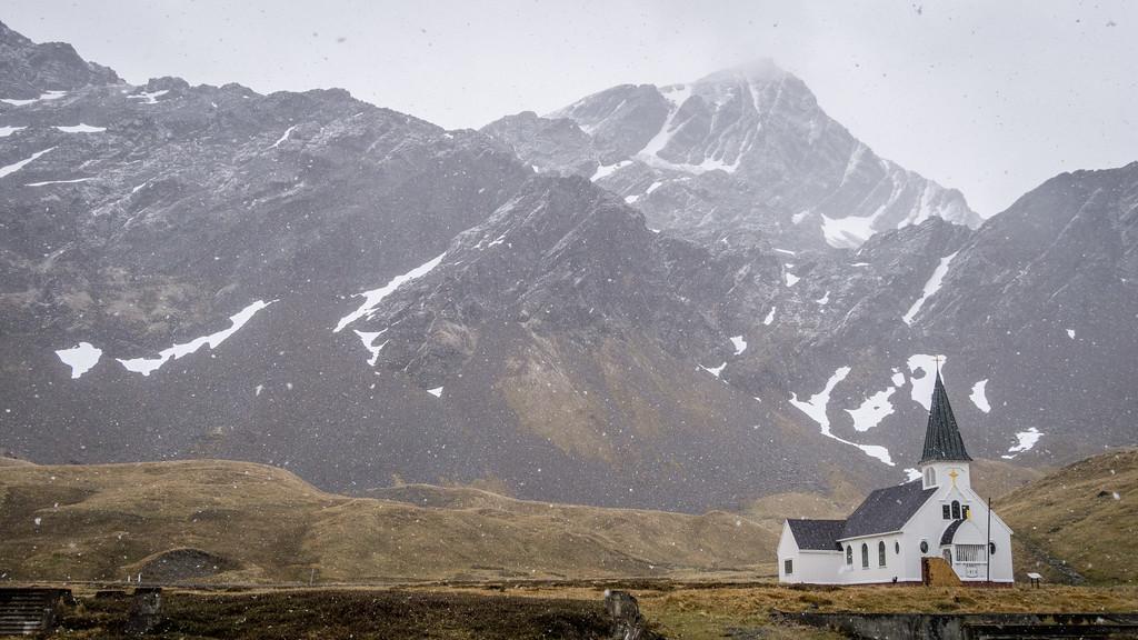 Norwegian Church at Grytviken