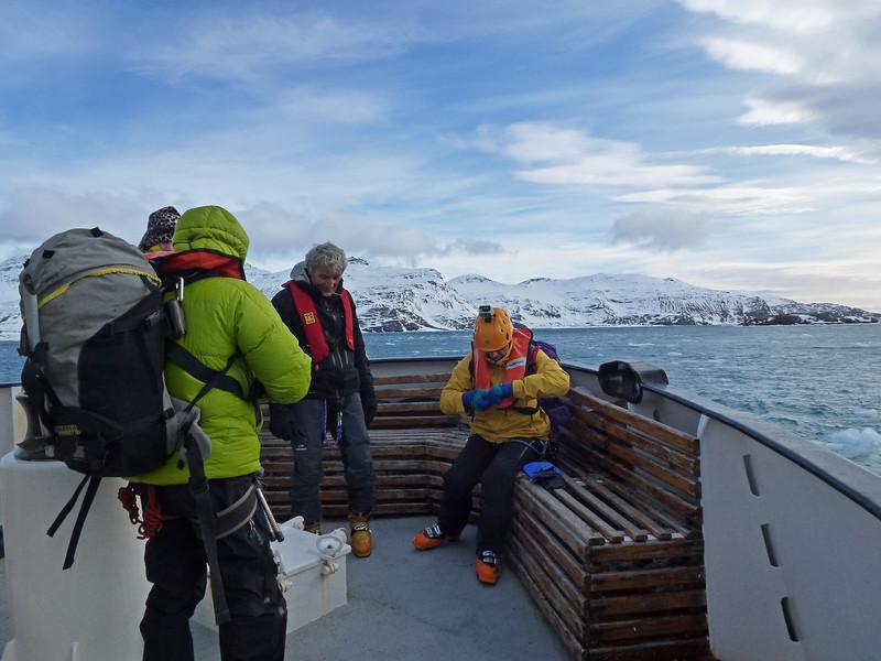 Heading to Antatartic Bay