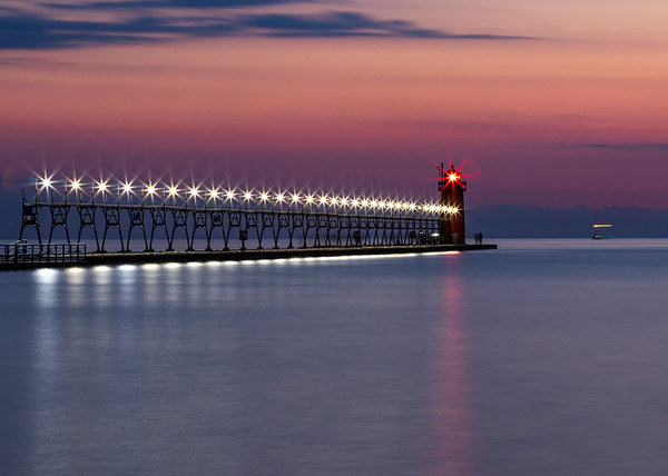 South Haven Sunset Afterglow
