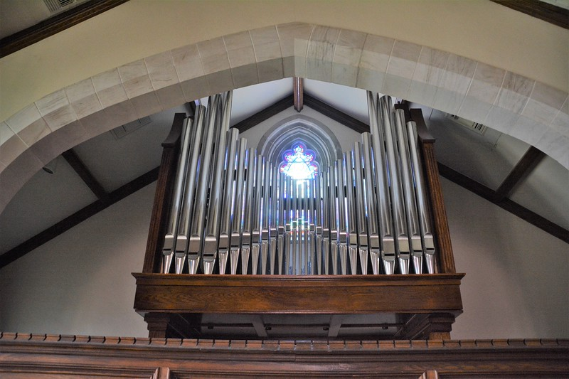 The pipes for the organ
