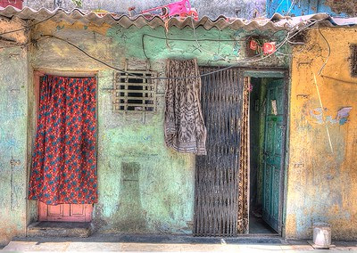 House in Dharvi Slums