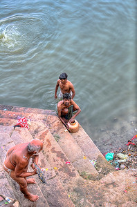 Washing in the Ganges