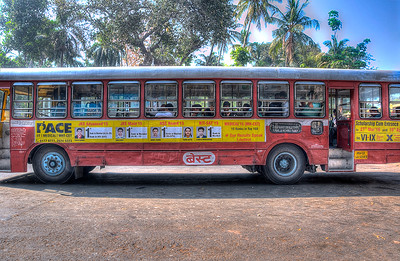 Local Bus in Mumbai