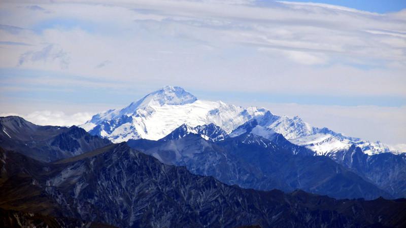 Mt Aspiring from Ben Lomond.