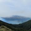 Lake Wakatipu in morning fog.
