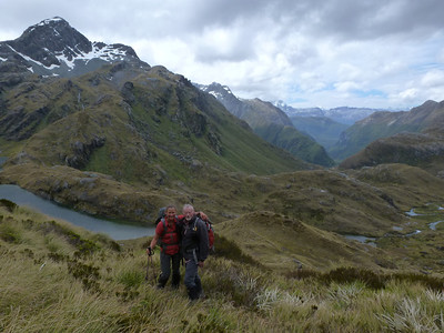Routeburn Track and Conical Hill, 06 January 2014