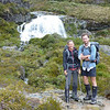 James and I at Routeburn Falls.