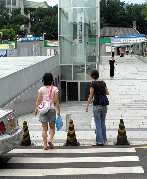 In Seoul, South Korea in August 2006