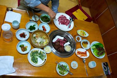Korean BBQ - delicious!!
