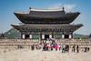 The Gyeongbokgung Royal Palace in Seoul, South Korea, Asia.