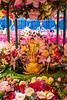 The colorful Jogyesa Buddhist Temple in Seoul, South Korea, Asia.
