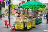 A street market kiosk along Insadong-gil street in the Insadong district of Seoul, south Korea, Asia.