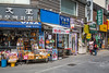 A storefront along Insadong-gil street in the Insadong district of Seoul, south Korea, Asia.