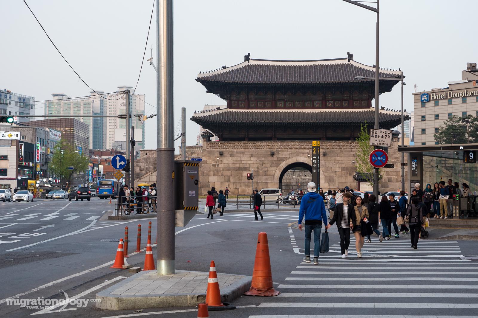 Dongdaemun Gate in Seoul