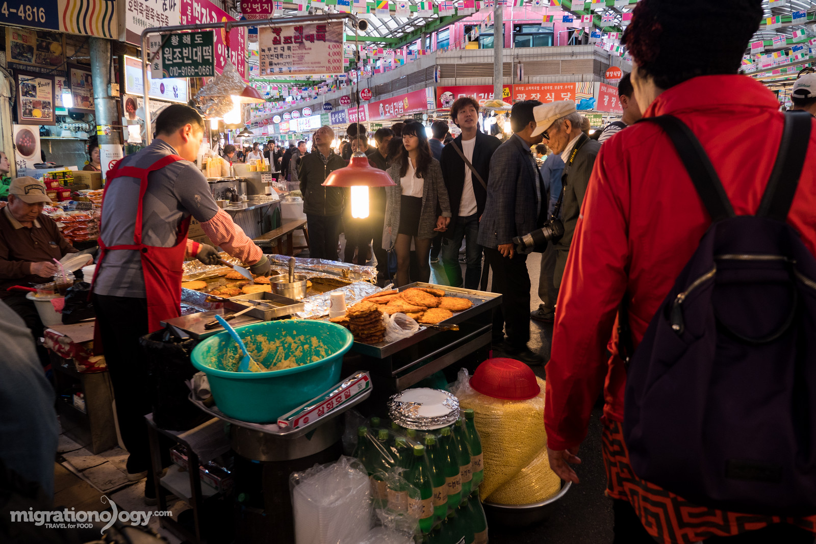 Korean street food in Seoul