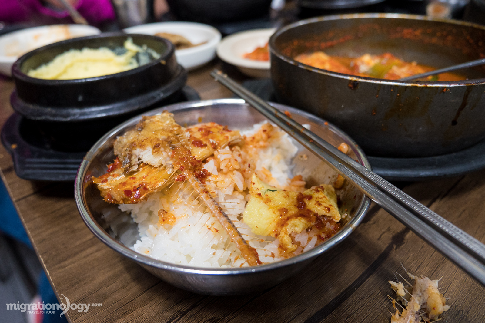 Korean food in Seoul