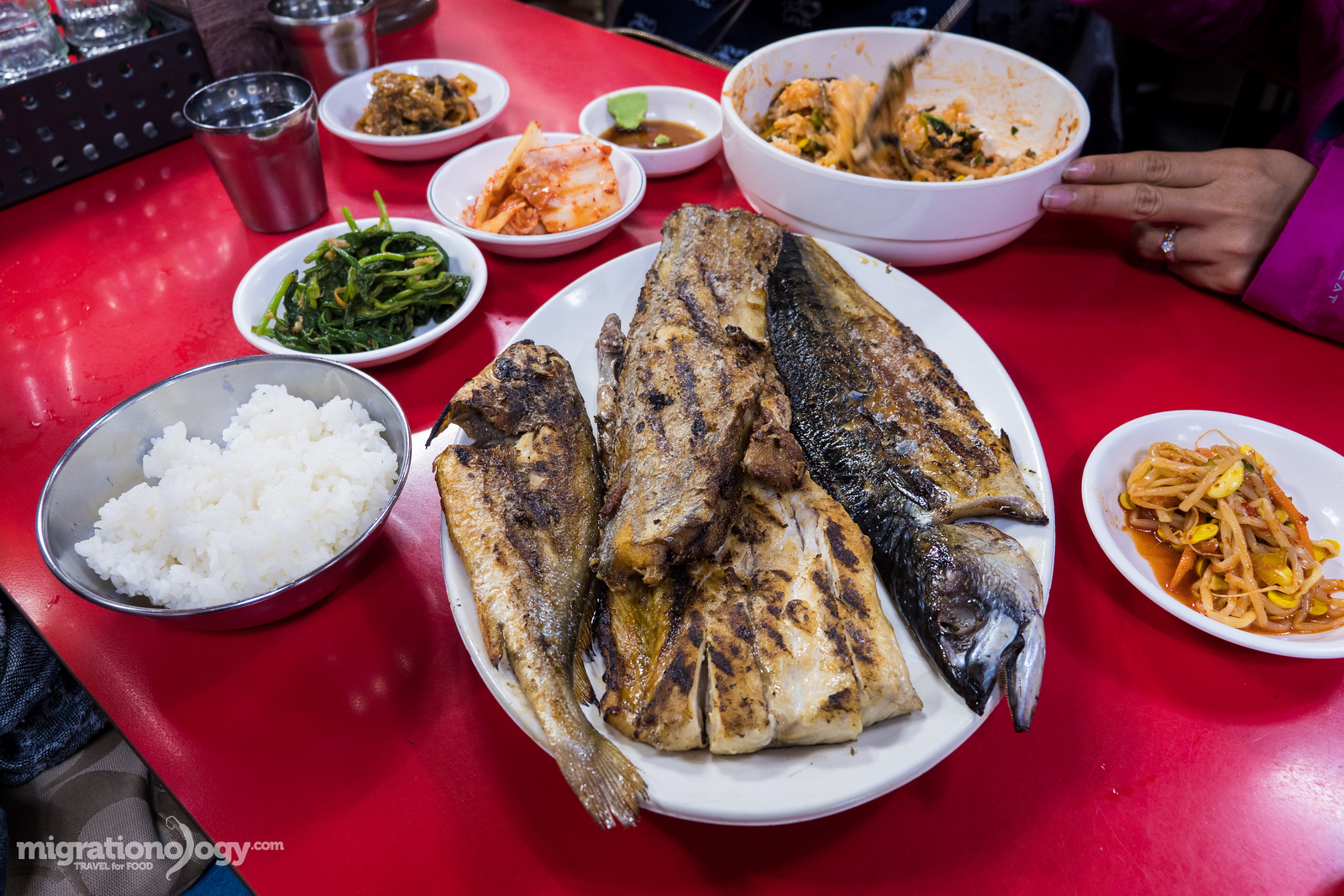 Korean grilled fish