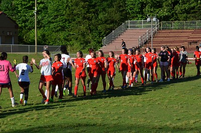 South Meck Womens Soccer - At Harding 2017