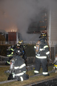 Members operate a 1 1/2 inch line into the garage.