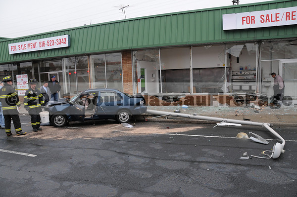April 14th, 2011 Car vs Building 134 West Sunrise Highway