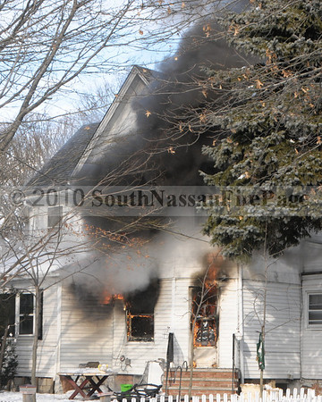 February 14th, 2010 Signal 10 House Fire with Person Trapped @ 217 Lena Avenue.