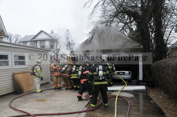 January 30th, 2010 Signal 10 Garage Fire @ 151 East Seaman Avenue