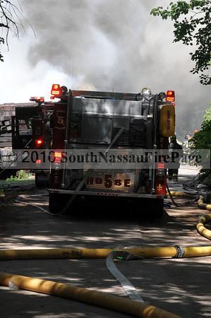 July 4th, 2010 Railroad Storage Yard Fire